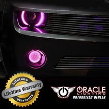 Oracle 2014 2016 Gmc Sierra Pink Led Fog Light Halo Ring Kit - $105.40