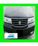 1998-2004 CADILLAC SEVILLE STS CHROME TRIM FOR GRILL GRILLE W/5YR WARRANTY - $31.91