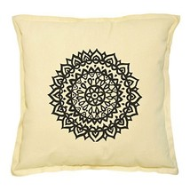 Vietsbay's Indian Elements Printed Khaki Decorative Throw Pillows Case V... - $14.39