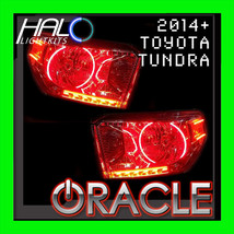 2014-2015 TOYOTA TUNDRA Red Plasma Headlight Halo Ring Kit by Oracle Lig... - $190.99