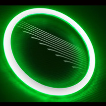 Oracle 2007 2015 Jeep Wrangler Green Ccfl Head Light Halo Ring Kit - $152.15