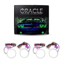 Oracle Lighting BM-M39805P-G - BMW M3 Plasma Halo Headlight Rings - Green - $216.99