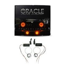 Oracle Lighting GM-SI0813CF-A - GMC Sierra CCFL Halo Fog Light Rings - Amber - $117.98