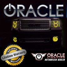 Oracle 2007 2008 Chrysler Pacifica Yellow Ccfl Fog Light Halo Ring Kit - $105.40