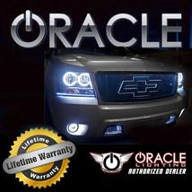 Oracle 2007 2008 Chrysler Pacifica White Plasma Fog Light Halo Ring Kit - $110.08