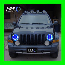 2002-2007 ORACLE LIGHTING Jeep Liberty Blue Plasma Headlight Halo Ring Kit - $191.99