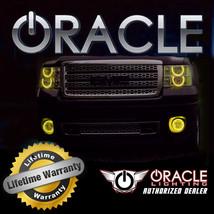 Oracle 2007 2013 Gmc Sierra Yellow Ccfl Fog Light Halo Ring Kit - $105.40