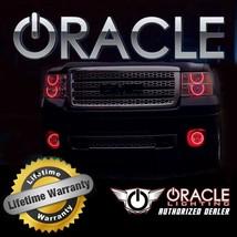 Oracle 2007 2009 Chrysler Aspen Red Plasma Fog Light Halo Ring Kit - $113.48