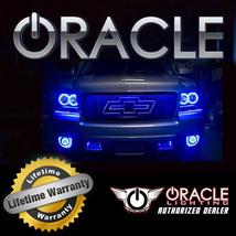 Oracle 2007 2014 Gmc Yukon Denali Blue Ccfl Fog Light Halo Ring Kit - $105.40