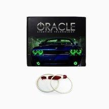Oracle Lighting GM-DE0710F-G - GMC Denali LED Halo Fog Light Rings - Green - $129.99