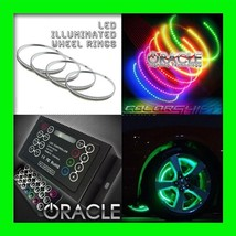 Colorshift Led Wheel Lights Rim Lights Rings By Oracle (Set Of 4) For Chevy 3 - $339.14