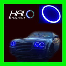 2005-2010 CHRYSLER 300C BLUE PLASMA LIGHT HEADLIGHT HALO KIT 4 RINGS by ... - $209.99