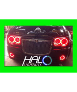 2005-2010 CHRYSLER 300C RED PLASMA HEADLIGHT+FOG HALO KIT 6 RINGS by ORACLE - $327.99