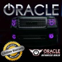 Oracle 2007 2010 Chrysler Sebring Purple Ccfl Fog Light Halo Ring Kit - $107.53