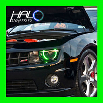 2010 2013 Chevy Camaro Non Rs Green Smd Led Halo Headlight Light Kit By Oracle - $164.99