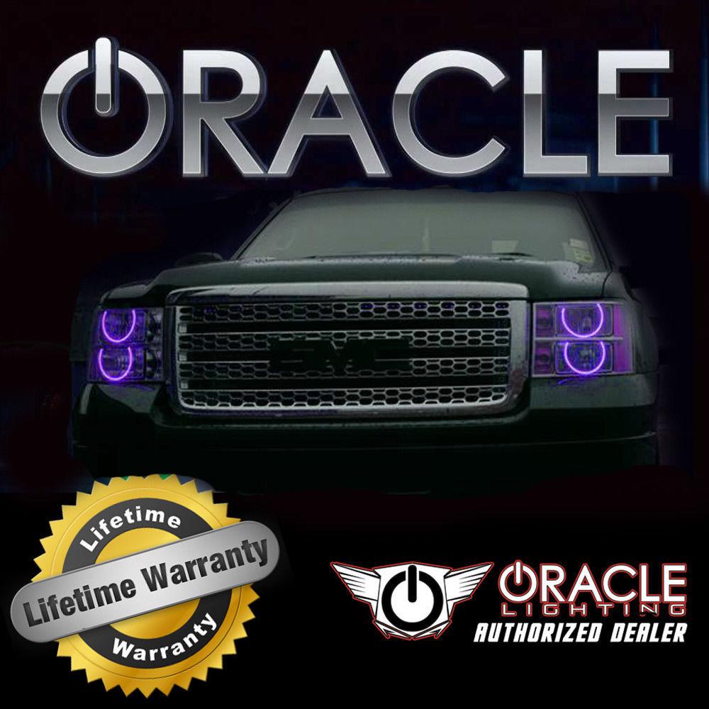 ORACLE 1999-2005 Volkswagen Golf/GTI UV/PURPLE CCFL Head Light Halo Ring Kit - $207.40