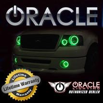 Oracle 2007 2014 Gmc Yukon Denali Green Plasma Fog Light Halo Ring Kit - $113.48