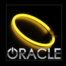 Oracle 2006 2010 Jeep Commander Yellow Led Head Light Halo Ring Kit - $177.65