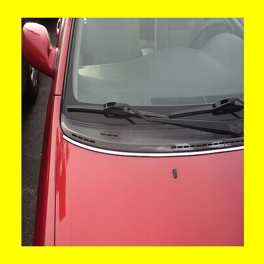 SUBARU CHROME HOOD TRIM MOLDING W/5YR WRNTY+FREE INTERIOR PC - $14.91