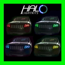 2011-2013 Jeep Grand Cherokee COLORSHIFT LED Headlight Halo Ring Kit by ... - $364.99