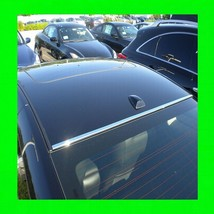 CHEVY CHROME FRONT/BACK ROOF TRIM MOLDING 2PC W/5YR WRNTY+FREE INTERIOR ... - $27.92