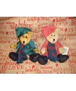 Boyds Bears Elton And Emmett Elfberg Plush Bears - $18.99