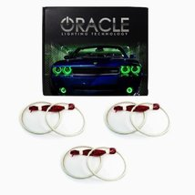 Oracle Lighting HY-AZ0708-G FOR Hyundai Azera LED Halo Headlight Rings - Green - $197.99