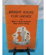 VTG Mid Century NEMA Electrical Reference Books Bright Ideas for Ladies - $19.92
