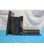 Lot 8 Antique Vtg School Books Literature Math History Display Prop Set ... - $23.88