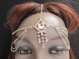 Women Head Chain Fashion Silver Metal Jewelry B... - $14.69