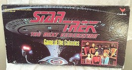 Star Trek Board Game of the Galaxies Vtg The Next Generation TNG Complete Extras - £27.34 GBP