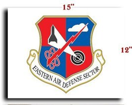 Air Force USAF Eastern Air Defense Sector CANVA... - $20.78