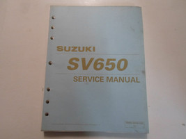 1998 Suzuki Sv650 Service Repair Manual Loose Leaf Stained Factory Oem Book 98 - $49.45