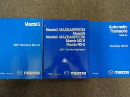 2007 Mazda 5 Mazda5 Service Repair Shop Manual 3 Volume Set Factory Oem Books 07 - $123.70