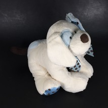 Baby GANZ Stuffed Animal Dog Chocolate Drops Puppy Rattle Blue Plush New Toy image 3