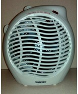 Impress IM-701 1500-Watt Compact Fan Heater with Adjustable Thermostat - $24.00