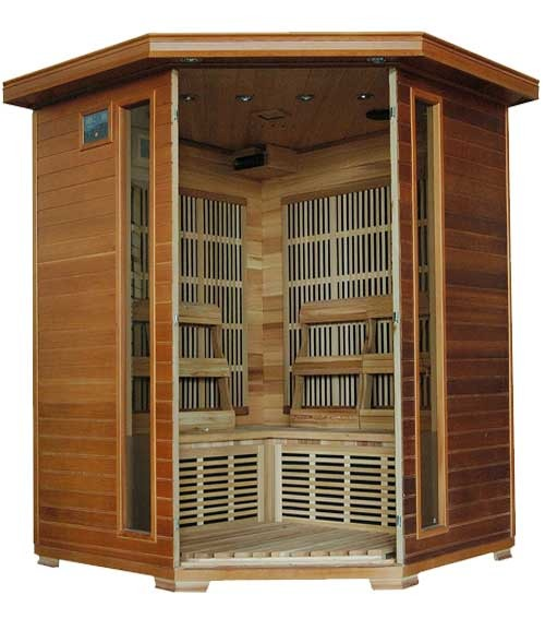 Whistler Ultra 4 Person Carbon Infrared Home Sauna