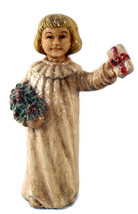 Vtg 1980s Christmas Choir Boy Figurine  - $10.25