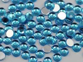 1.5mm SS5 Blue Aqua A21 Acrylic Rhinestones High Quality - 500 PCS - $8.30