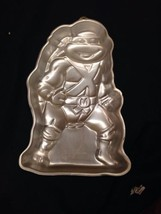 Vintage Wilton Teenage Mutant Ninja Turtles Cake Pan 1989 2105-3075 TMNT - $761,64 MXN