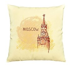 Vietsbay Moscow Russia Printed Decorative Pillows Cover Cushion Case VPLC - €11,01 EUR