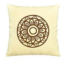 Vietsbay Henna Tattoo Elements-1 Printed Pillows Cover Cushion Case VPLC - €11,01 EUR