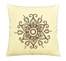 Vietsbay Henna Tattoo Elements-2 Printed Pillows Cover Cushion Case VPLC - €11,01 EUR