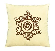 Vietsbay Henna Tattoo Elements-3 Printed Pillows Cover Cushion Case VPLC - €11,01 EUR