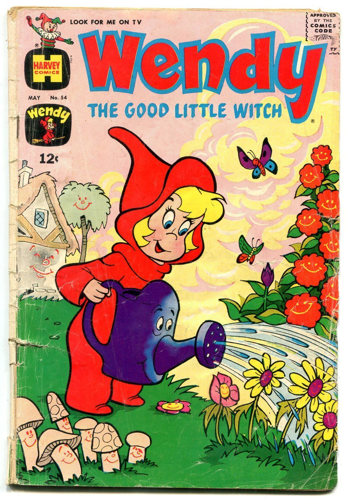 WENDY THE GOOD LITTLE WITCH #54 1969-HARVEY COMICS FR