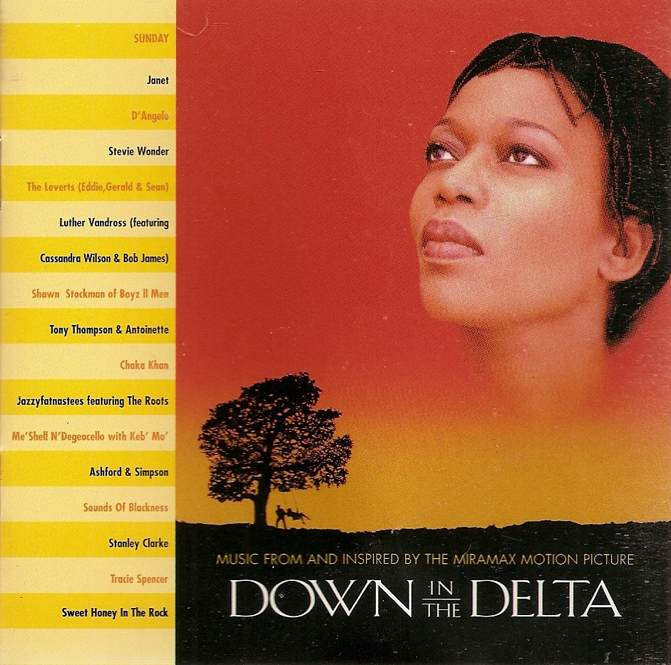 CD--Down in the Delta by Original Soundtrack