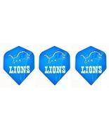 Detroit Lions Nfl Football Standard Wide Size Dart Flights 1 Set of 3 Fl... - $3.95