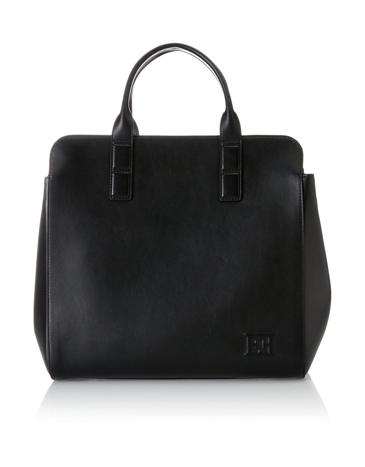 Ab735, Womens Bag, Black, 10x20x26 cm (B x H T) Escada Sport
