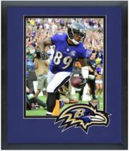 Steve Smith 2015 Baltimore Ravens - 11 x 14 Team Logo Matte/Framed Photo - $43.55