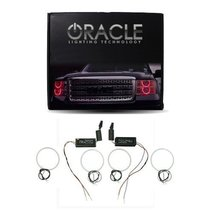 Oracle Lighting LI-NA0306C-R - Lincoln Navigator CCFL Halo Headlight Rings - Red - $197.99